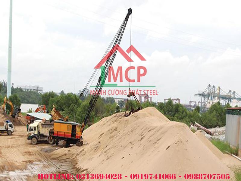 Bảng báo giá cát san lấp xây dựng mới nhất tại Tphcm tháng 05 năm 2020