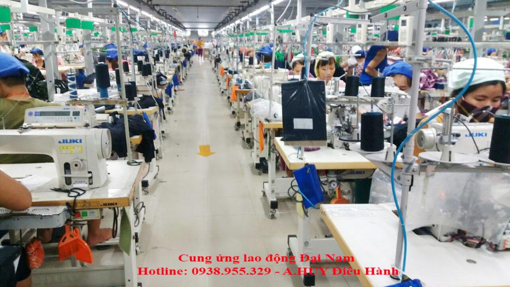 Dịch vụ cung ứng lao động số lượng lớn chất lượng