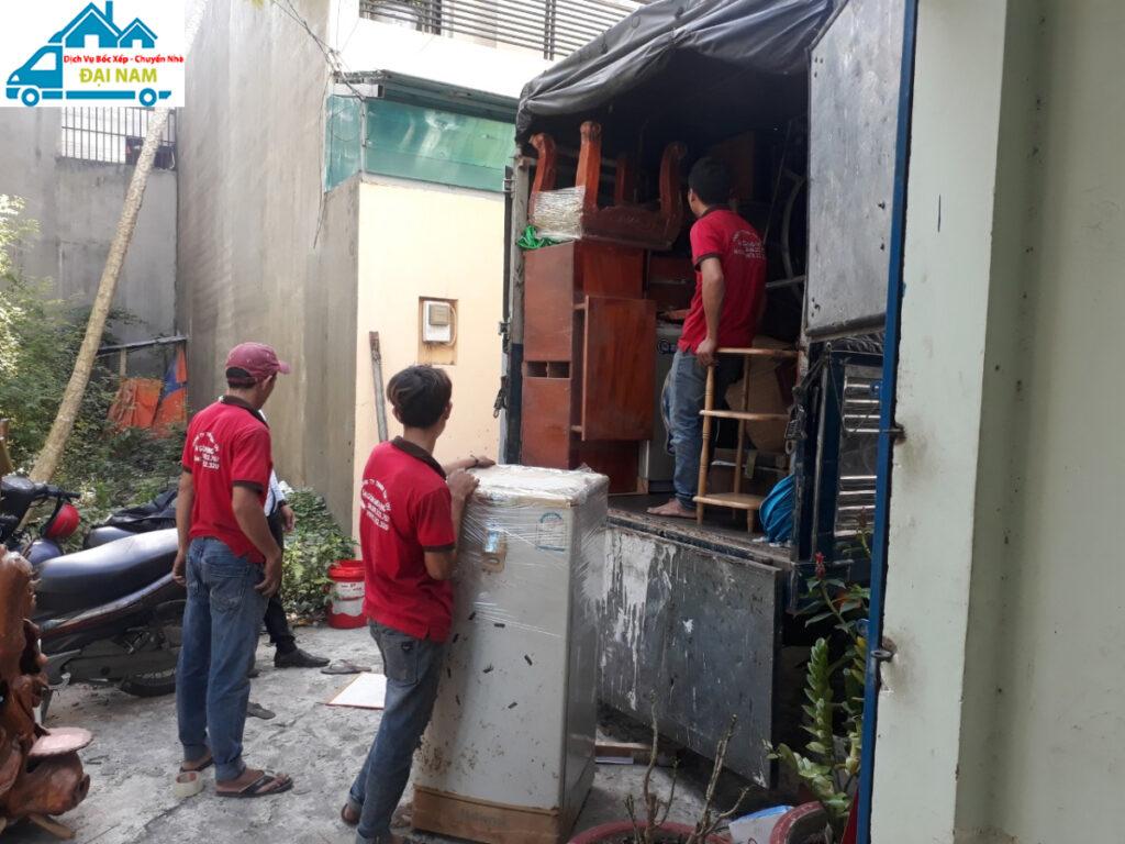 Dịch vụ chuyển nhà quận Bình Tân giá rẻ, nhanh chóng, chất lượng